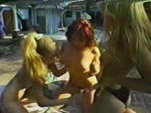 Various Lesbian Scenes Of 90's