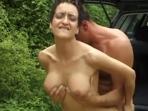 Susana De Garcia - Fuck in a car
