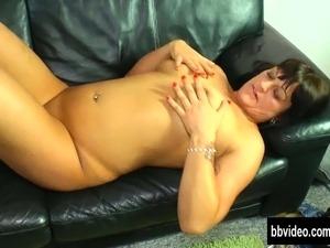 Busty german milf masturbating