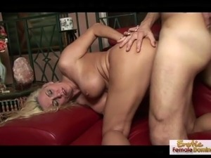 Mature blonde MILF has a filthy mind