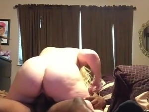 Blonde pawg loves to ride
