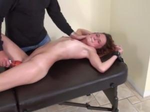 Tickling Orgasm In Bondage