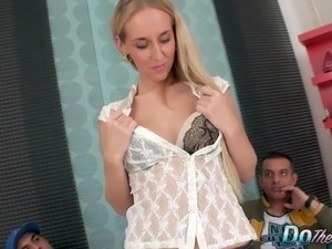 Cock hungry wife Jenny Simons gets fucked hard