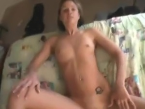 gorgeous young couple fuck at home
