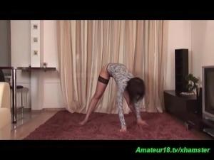 flexible busty gymnastic teen