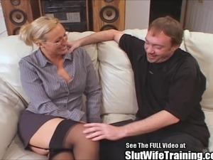 Tall Big Tit Blonde Teacher Joey Lynn Fucks Porno Student
