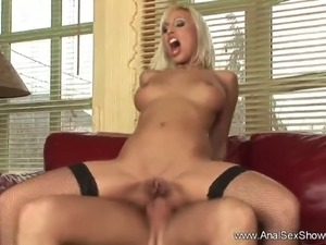 Hot Blonde MILF Fucked In Asshole