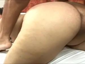 Big ass Latin mature anal fucked