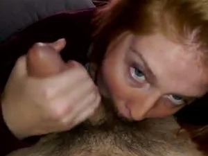 Morgan Woods Sucking Cock