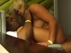 Beautiful Married Wife Shared by Hubby with Young Black Stud