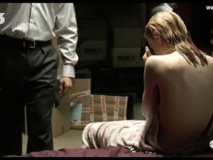 Olga Kurylenko - Naked, BDSM, Tied Up, Big Boobs - Le Serpen