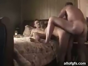 Dirty threesome with my friend and his sexy brunette wife