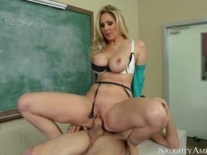 Julia Ann Tyler Nixon in My First Sex Teacher. Part 3