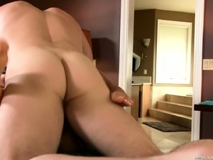 Big breasted masseuse is on the lookout for a hot guy with a long pole