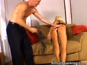 Sweet Ass Spanking Action