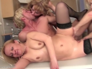 MOM's party turns into orgy with young boy