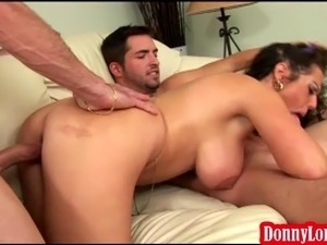 Donny Long tag team breaks milf