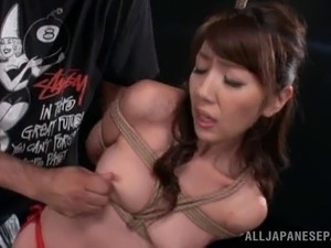 Rope bondage fun as Japanese girls are tied up and punished