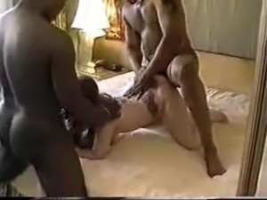 Wife gets black fucked and cream pie