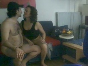 Yummy Latina MILF wife blows me and swallows the load