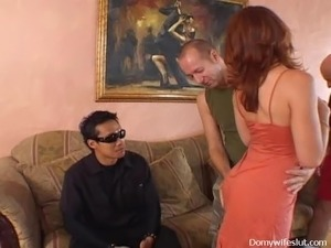 Ginger Wife Gets Two At Once