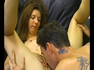 Lusty siren gets fucked doggy style at the casting
