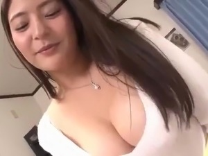 Busty tutor gives titjob