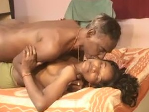 Skinny and old freak bangs his delicious young wife