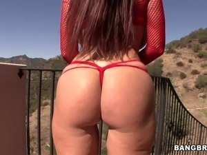 Intense Anal Action For A Busty Redhead