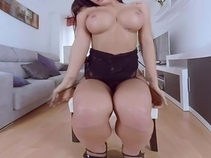 Nasty babe Susy Gala needs your cock in VR porn