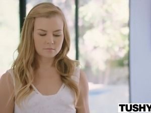 TUSHY Pretty Teen Gets Even With Her Cheating Boyfriend