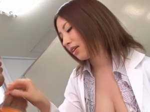 Hot nurse in uniform loves when throbbed hardcore missionary