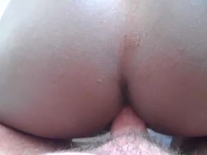 white guy black girl anal premature cum 1 second