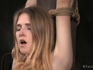 Poor Ashley never even knew that the BDSM sessions can be so painful