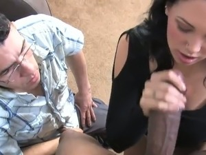 A crying husband is the highlight of this reality cuckold video