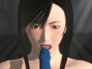 Final Fantasy VII Tifa Misfits Ecstasy Anal Cunt 3D