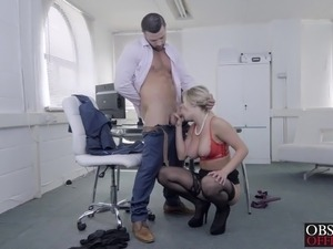 Big ass blonde Sienna Day pounded hard