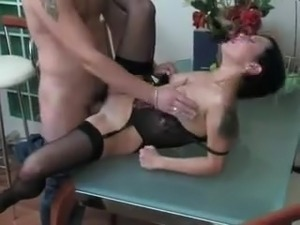 Friends mother anal action