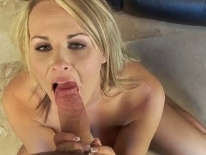 Fascinating hot ass blonde with fake tits loving her juicy pussy being fingered