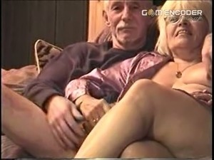 The homemade video of my grandma and grandpa pleasing each other
