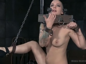 Abigail Dupree is a pain slut and she is ready for whatever