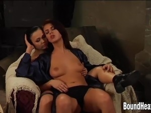 Lesbian Mistress And Slaves In Passionate Action