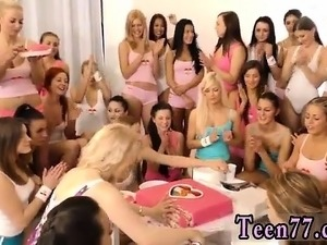 Hd pov teen girlfriend 40 gals came over to party and celebr