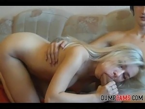 Blonde Teen Enjoy Big Cock On Webcam - DumpCams.com