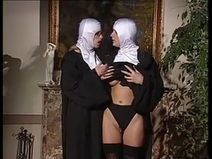 A 'nuns' interlude.