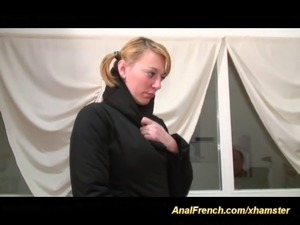 french amateur anal casting tape