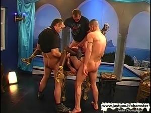 Black Babe Stacy screams for white cock - German Goo Girls