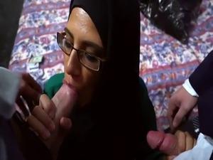 Arab sex scandal algerian first time Desperate Arab Woman Fucks For Mo