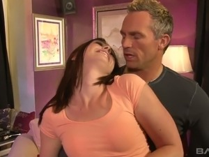 Horny mature man is having his way with sex starved hottie Jodi Taylor
