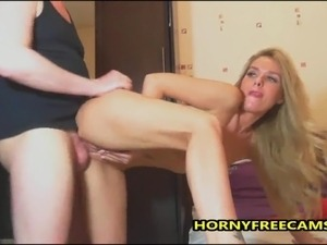 My Blonde Bunny Loves Swallowing My Big Cock